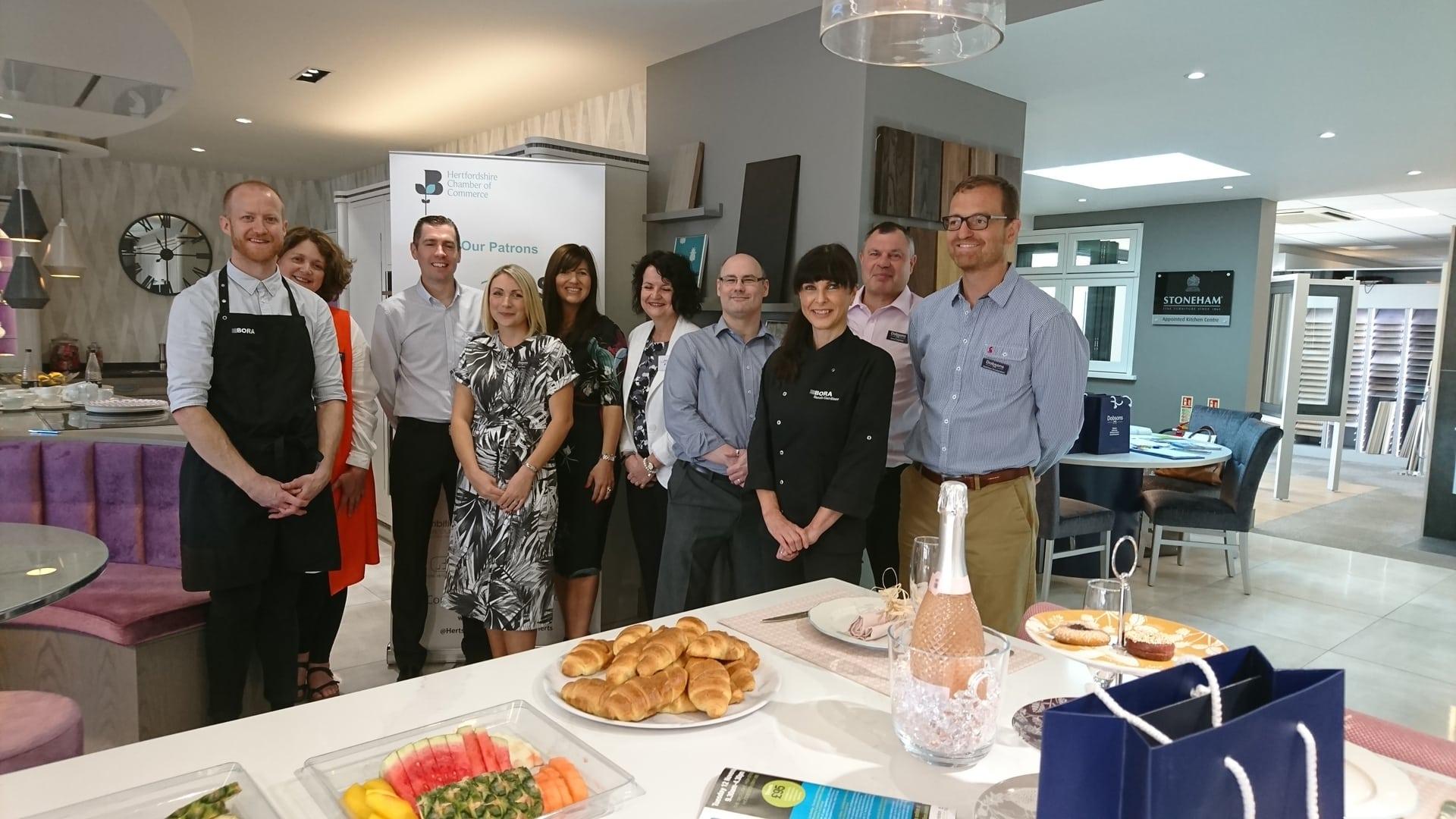 Hertfordshire Chamber of Commerce Breakfast Networking