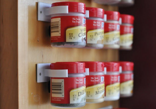 external spice rack organizer